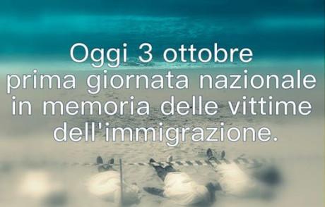 Giornata nazionale in memoria delle vittime dell'immigrazione