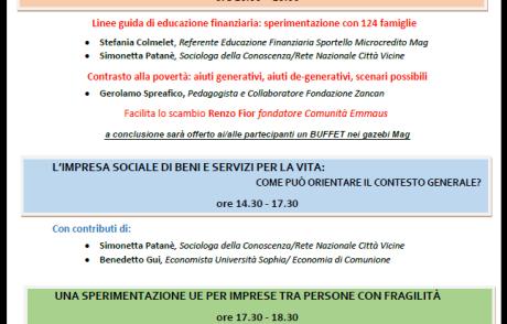 Workshop: dai desideri all'Economia del Buon Vivere
