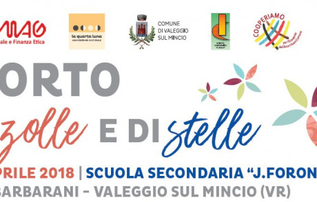 16 Aprile – L'Orto di zolle e di stelle- evento educativo presso la scuola secondaria J.Foroni (Valeggio sul Mincio)