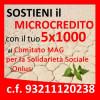 Dona il tuo 5×1000 al Microcredito!