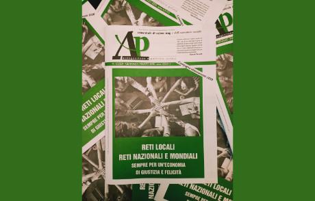 Nuovo numero di AP: Reti locali, Reti nazionali e mondiali sempre per un'economia di giustizia e felicità