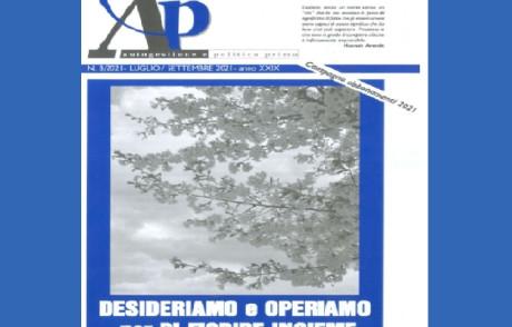 """Nuovo numero di A&P: """" DESIDERIAMO e OPERIAMO per RI-FIORIRE INSIEME"""""""