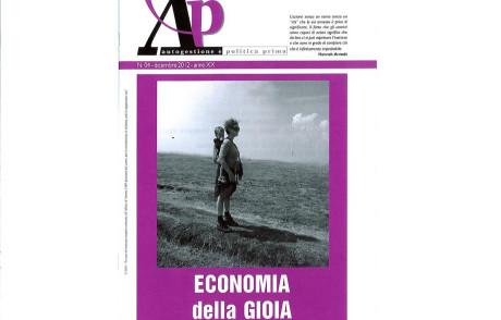 ECONOMIA DELLA GIOIA – è uscito il nuovo numero di A&P