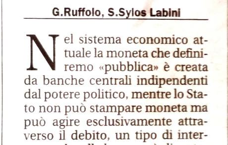 EURO MONETA COMUNE, BASTA MONETA UNICA